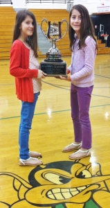Kate & Molly with Harbin Classic Trophy